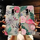 povoljno Maske/futrole za Galaxy S seriju-Θήκη Za Samsung Galaxy S9 / S9 Plus / S8 Plus Mutno / Translucent / Reljefni uzorak Stražnja maska Flamingo / Cvijet Mekano TPU