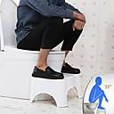 """abordables Gadgets de Salle de Bain-WC tabouret accroupi pour toilettes salle de bain tabouret accroupi pour toilettes petit tabouret pour aide à la posture de toilette et à la libération saine design compact et portable 7 """"17cm"""