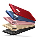 cheap iPhone Cases-Case For Apple iPhone XS / iPhone X / iPhone 8 Plus Ultra-thin Back Cover Solid Colored Hard PC