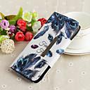رخيصةأون أغطية أيفون-غطاء من أجل Apple iPhone XS / iPhone XR / iPhone XS Max محفظة / مع حامل / نموذج غطاء كامل للجسم الريش قاسي TPU