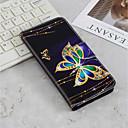 رخيصةأون أغطية أيفون-غطاء من أجل Samsung Galaxy J6 (2018) / J6 Plus / J4 (2018) محفظة / حامل البطاقات / مع حامل غطاء كامل للجسم فراشة قاسي جلد PU