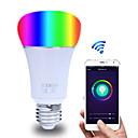 رخيصةأون جسم السيارة الديكور والحماية-التحكم الذكي في تطبيق wifi لمبة rgbw عكس الضوء e27 / e26 يعمل المصباح الكهربائي مع alexa google home16 مليون لون ac 85-265v
