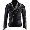 povoljno Motociklističke jakne-AOWOFS Y998 Odjeća za motocikle Zakó za Muškarci PU koža Proljeće & Jesen / Zima Vodootporno / Otporne na nošenje / Protection