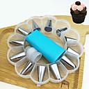 رخيصةأون أدوات الفرن-14PCS الفولاذ المقاوم للصدأ كعكة لأواني الطبخ حلوى ديكور أدوات حلوى أدوات خبز