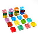 tanie Organizery na blaty i ściany-24-pack magnesy na lodówkę słodkie magnesy na lodówkę kuchenne kolorowe magnesy dekoracyjne magnesy na biurku zabawa magnesy szklane tablica suchościeralna magnesy deska