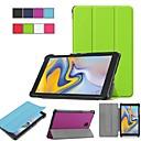 voordelige Samsung-hoes voor tablets-hoesje Voor Samsung Galaxy Tab S2 8.0 / Tab A 8.0 (2017) / Tab A 8.0 met standaard / Flip / Origami Volledig hoesje Effen Hard PU-nahka