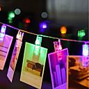 povoljno LED svjetla u traci-zdm 4m 40 komada led svjetla za fotografske nizove 40 fotoaparata baterija ili usb sučelje vila svjetlucanje fotografije i umjetnička djela topla bijela dc5v