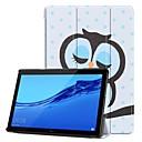 رخيصةأون Huawei أغطية / كفرات-غطاء من أجل Huawei Huawei Mediapad T5 10 / Huawei MediaPad T3 8.0 / Huawei MediaPad T3 7.0 ضد الصدمات / مع حامل / نحيف جداً غطاء كامل للجسم حيوان قاسي جلد PU