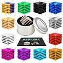 ieftine Jucării cu Magnet-216 pcs 3mm 5mm Jucării Magnet bile magnetice Jucării Magnet Lego Super Strong pământuri rare magneți Magnet Neodymium Magnet Neodymium Magnetic Stres și anxietate relief Birouri pentru birou
