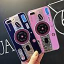 رخيصةأون أغطية أيفون-غطاء من أجل Apple iPhone XS / iPhone XR / iPhone XS Max ضد الصدمات / سائل متدفق / شفاف غطاء خلفي قرميدة / بريق لماع ناعم TPU