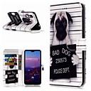ieftine Mărgele & Producere Bijuterii-Maska Pentru Huawei Huawei P20 / Huawei P20 Pro / Huawei P20 lite Portofel / Titluar Card / Cu Stand Carcasă Telefon Câțel Greu PU piele