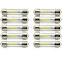 ieftine Becuri De Mașină LED-10pcs 41mm Mașină Becuri 1 W COB 85 lm 1 LED Lumini de interior / Lumini exterioare Pentru Παγκόσμιο Παγκόσμιο / KX5 Universal