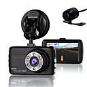 ieftine Alarme & Securitate-camera de supraveghere dublă cu camera de supraveghere video dvr pentru șoferi full HD 1080 p aparat de fotografiat cu senzor de noapte g-sensor