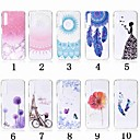 voordelige Galaxy A3(2016) Hoesjes / covers-hoesje Voor Samsung Galaxy A5(2018) / A6 (2018) / A6+ (2018) Transparant / Patroon Achterkant Bloem Zacht TPU