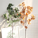 cheap Artificial Flowers-Artificial Flowers 1 Branch Classic Traditional Simple Style Plants Tabletop Flower