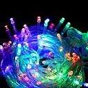 povoljno LED svjetla u traci-10m Žice sa svjetlima 100 LED diode Više boja Ukrasno 220-240 V 1set