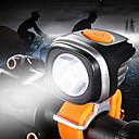 povoljno Motociklističke rukavice-LED Svjetla za bicikle Prednje svjetlo za bicikl LED Brdski biciklizam Bicikl Biciklizam Vodootporno Super Bright Prijenosno Prilagodljiv punjiva baterija 1200 lm Baterije su pogonjene Bijela / IPX 6