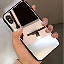 povoljno Zaštita zaslona za iPhone XS Max-Θήκη Za Apple iPhone XS / iPhone XR / iPhone XS Max Zrcalo Stražnja maska Jednobojni Tvrdo Kaljeno staklo