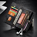 povoljno Maske/futrole za Huawei-Θήκη Za Apple iPhone XR Novčanik / Utor za kartice / Otporno na trešnju Korice Jednobojni Tvrdo PU koža