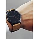 ieftine Ceasuri Bărbați-Bărbați Ceas Elegant Ceas de Mână Quartz Piele Negru / Maro 30 m Model nou Ceas Casual Cool Analog Clasic Casual Modă Ceas simplu - Cafea Negru / Alb Alb / Bej Un an Durată de Viaţă Baterie