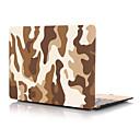 "ieftine Genți Universale & Valize-MacBook Carcase Culoare Camuflaj PVC pentru MacBook Pro 13-inch / Noul  MacBook Pro 13"" / New MacBook Air 13"" 2018"