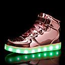 رخيصةأون الأساور الذكية-للصبيان أحذية مضيئة PU أحذية رياضية طفل (9M-4ys) / الأطفال الصغار (4-7 سنوات) / الأطفال الصغار (7 سنوات +) LED فضي / زهري / أزرق البحرية الصيف / مطاط