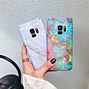 tanie Etui / Pokrowce do Samsunga Galaxy S-Kılıf Na Samsung Galaxy S9 Plus / S9 Matowa / Wzór Osłona tylna Marmur Twardość PC na S9 / S9 Plus / S8 Plus