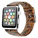 ieftine Accesorii Ceasuri-Piele autentică Uita-Band Curea pentru Apple Watch Series 4/3/2/1 Maro 23cm / 9 Inci 2.1cm / 0.83 Inchi
