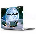 abordables Etuis / Coques pour Motorola-macbook case peinture à l'huile dessin animé / noël pvc pour air pro rétine 11 12 13 15 housse d'ordinateur portable pour macbook new pro 13.3 15 pouces avec barre tactile
