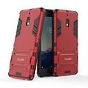 voordelige Samsung-hoes voor tablets-hoesje Voor Nokia Nokia 2.1 Schokbestendig / met standaard Achterkant Effen Hard PC