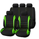 رخيصةأون سجادات-أغطية مقاعد السيارات أغطية المقاعد أحمر / أخضر / أزرق قماش الأعمال التجارية / عادي من أجل عالمي عالمي عالمي