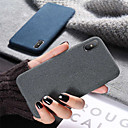 رخيصةأون حافظات / جرابات هواتف جالكسي A-غطاء من أجل Apple iPhone XS / iPhone XR / iPhone XS Max ضد الصدمات / نحيف جداً غطاء خلفي لون سادة ناعم سيليكون