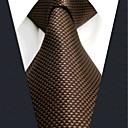 رخيصةأون ربطات عنق-ربطة العنق لون سادة / خملة الجاكوارد رجالي عمل / أساسي