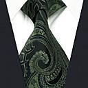 رخيصةأون ربطات عنق-ربطة العنق زخرفات / خملة الجاكوارد رجالي عمل / أساسي