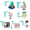 povoljno Naušnice-8pcs plastika Torta / kolači Za posuđe za kuhanje Pečenje i kolače lopatica Bakeware alati