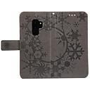 رخيصةأون حافظات / جرابات هواتف جالكسي S-غطاء من أجل Samsung Galaxy S9 / S8 محفظة / حامل البطاقات / مع حامل غطاء كامل للجسم لون سادة قاسي جلد PU إلى S9 / S9 Plus / S8 Plus