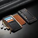 povoljno Maske/futrole za Huawei-Θήκη Za Apple iPhone XS / iPhone X Novčanik / Utor za kartice / Otporno na trešnju Korice Jednobojni Tvrdo PU koža