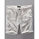 povoljno Kratke hlače-Muškarci Osnovni Dnevno Kratke hlače Hlače - Jednobojni Bež Navy Plava 34 36 38