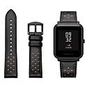 povoljno Apple Watch remeni-Pogledajte Band za Huami Amazfit Bip Younth Watch Xiaomi Sportski remen / Klasična kopča Prava koža Traka za ruku