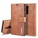 ieftine Ceasuri Damă-Maska Pentru OnePlus OnePlus 6 Titluar Card / Anti Șoc / Cu Stand Carcasă Telefon Mată Greu Piele autentică