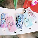 povoljno Ženski satovi-Θήκη Za Apple iPhone XS / iPhone XR / iPhone XS Max sa stalkom / IMD Stražnja maska Mramor Mekano TPU