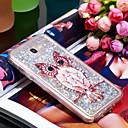 voordelige Galaxy J7 Hoesjes / covers-hoesje Voor Samsung Galaxy J7 Prime Schokbestendig / Glitterglans Achterkant Uil / Glitterglans Zacht TPU