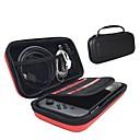 olcso Xbox 360 tartozék szettek-Táskák Kompatibilitás Nintendo Switch ,  Hordozható Táskák PU bőr 1 pcs egység