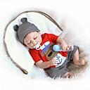 povoljno lutke-NPKCOLLECTION NPK DOLL Autentične bebe Za muške bebe 18 inch Cijeli silikon tijela Vinil - novorođenče Dar Slatko Dječjom Dječaci Igračke za kućne ljubimce Poklon