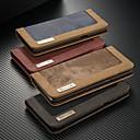 رخيصةأون حافظات / جرابات هواتف جالكسي S-غطاء من أجل Samsung Galaxy S9 / S9 Plus / S8 Plus محفظة / حامل البطاقات / مع حامل غطاء كامل للجسم لون سادة قاسي منسوجات