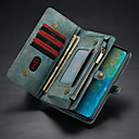 povoljno iPhone maske-Θήκη Za Huawei Huawei Mate 20 Novčanik / Utor za kartice / sa stalkom Korice Jednobojni Tvrdo PU koža
