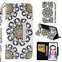 povoljno iPhone maske-Θήκη Za Xiaomi Xiaomi Redmi 4A Novčanik / Utor za kartice / Zaokret Korice Cvijet Tvrdo PU koža
