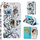 povoljno iPhone maske-Θήκη Za Samsung Galaxy S7 edge Novčanik / Utor za kartice / Zaokret Korice Cvijet Tvrdo PU koža