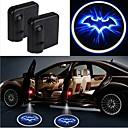 povoljno LED noćna rasvjeta-2pcs bežična vrata automobila vodio projektor sjenilo svjetlo auto-styling automobila unutarnja svjetiljka svjetlo