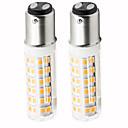 povoljno LED svjetla u traci-2pcs 4.5 W LED klipaste žarulje 450 lm BA15D T 76 LED zrnca SMD 2835 Zatamnjen Toplo bijelo Hladno bijelo 220 V